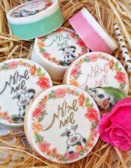 עוגיות אוראו מצופות 2 צבעים