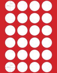 תבנית עיגולים